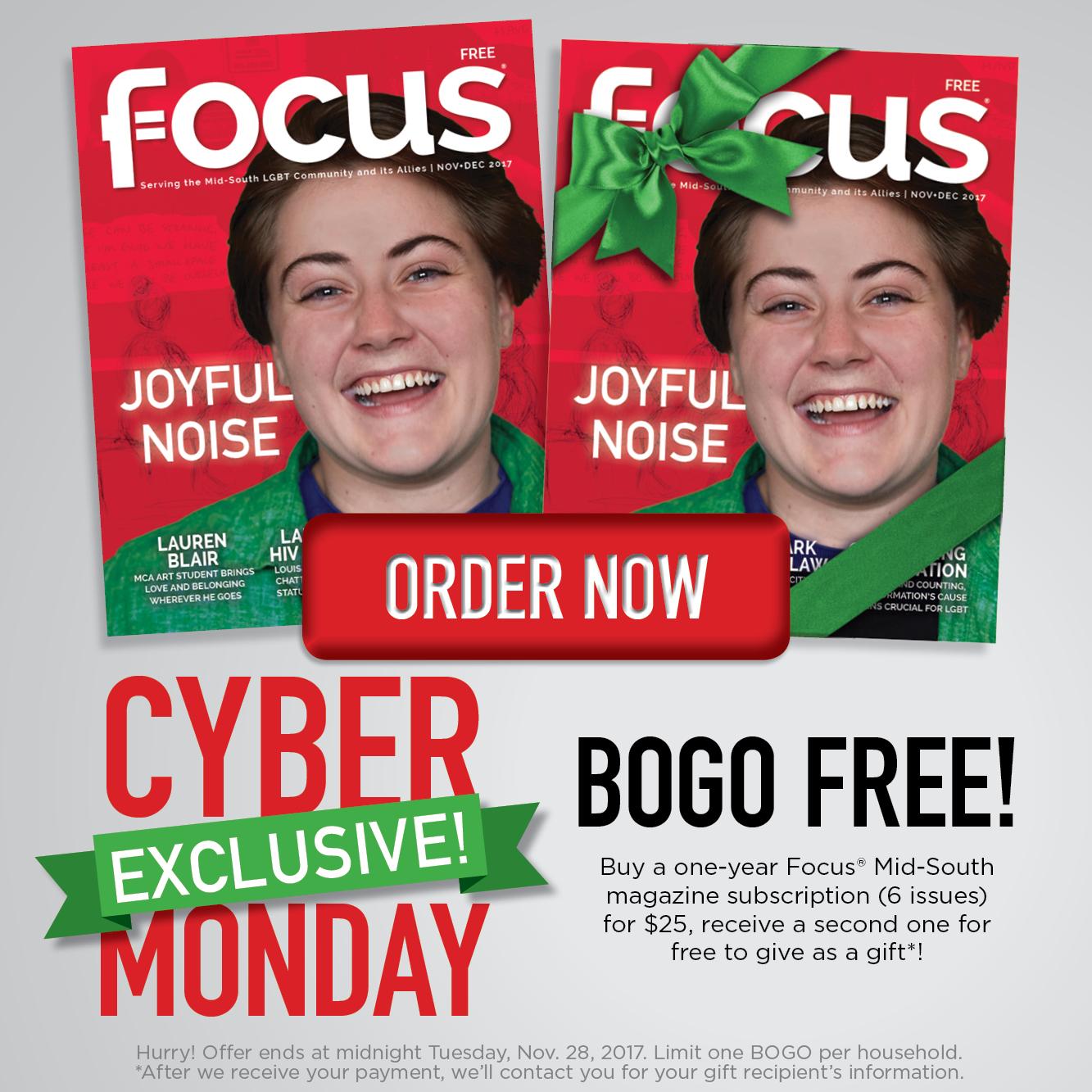 Focus Magazine Gift Subscription Square Ad Ray Rico Freelance