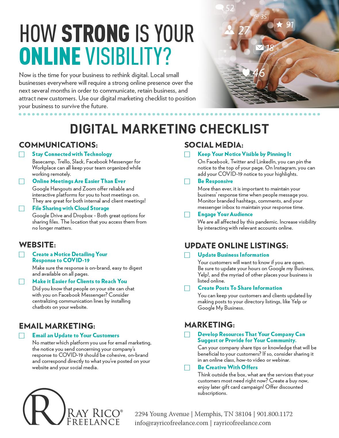 digital-media-marketing-checklist-online-resources-free