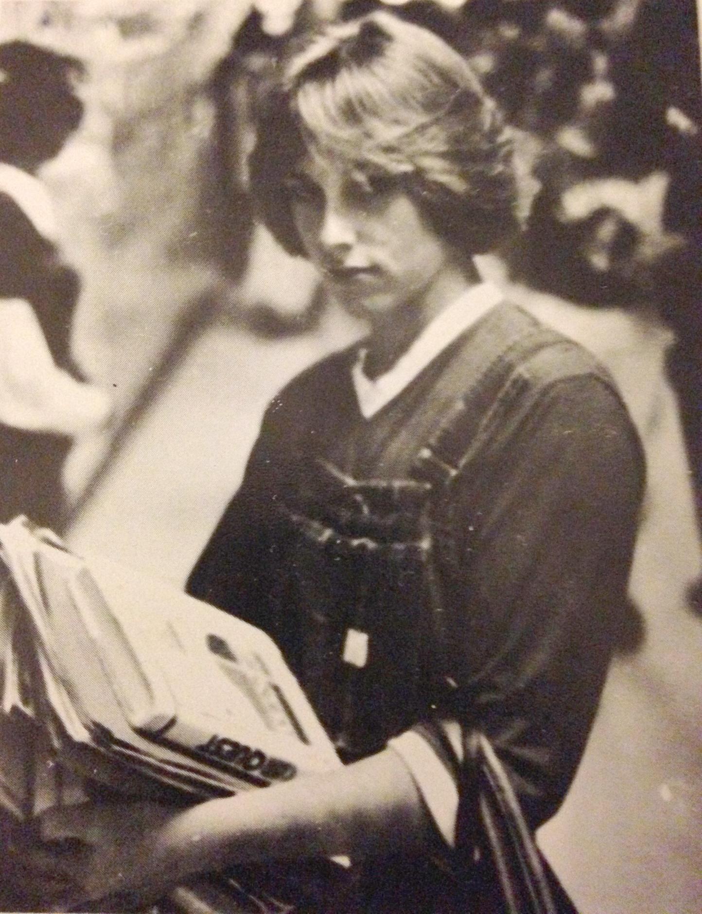 Joan at age 14