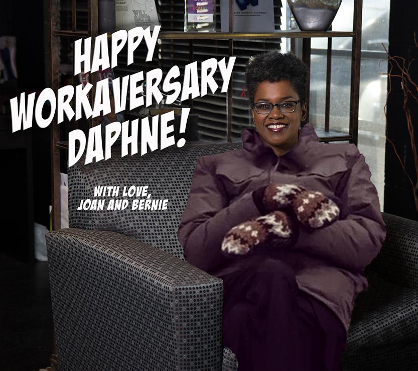 Workaversary: Daphne Butler 1