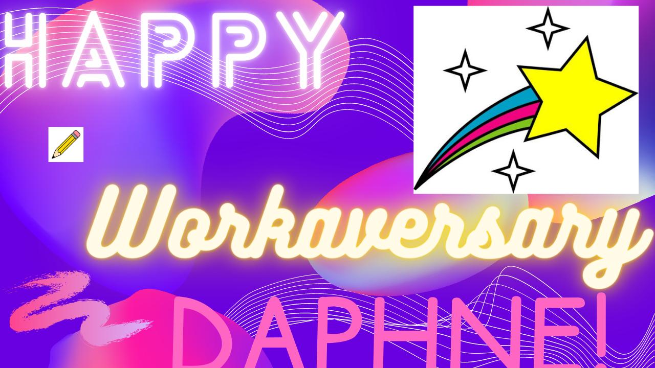 Workaversary: Daphne Butler 4